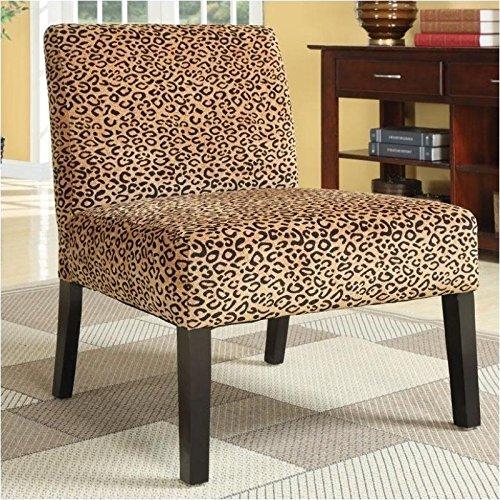 Leopard Print Chair