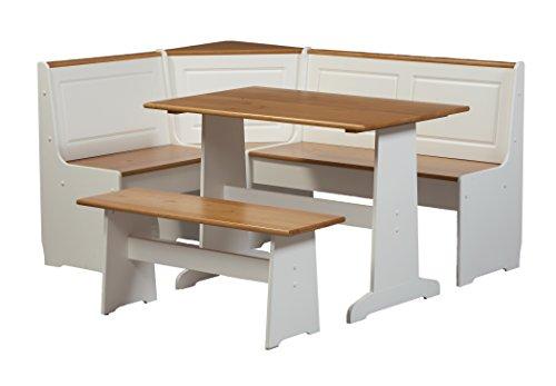 White Kitchen Nook Set