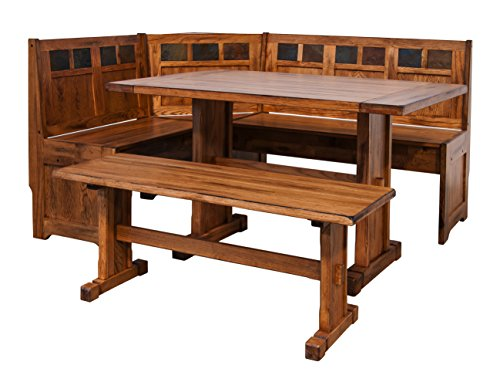 Breakfast Nook Set with Side Bench