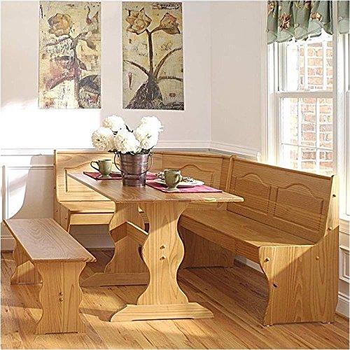 Breakfast Corner Nook Table Set
