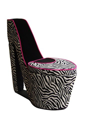 Fun And Stylish High Heel Shoe Shaped Chairs