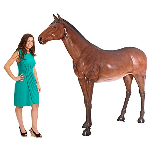 Life Size Quarter Horse Filly Statue