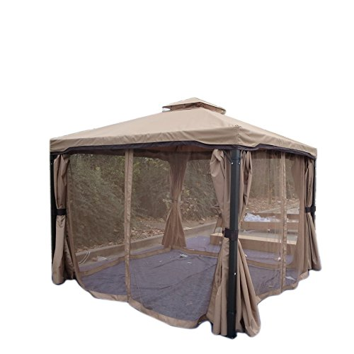 outdoor screened gazebos