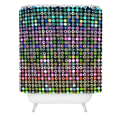 Funky Dots Shower Curtain