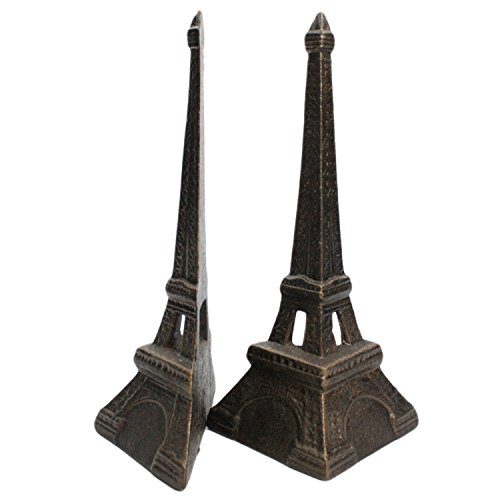 Eiffel Tower Bookends - Cast Iron