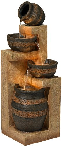 tiered indoor fountains