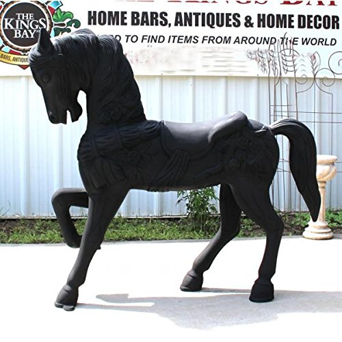 unique life size horse sculpture