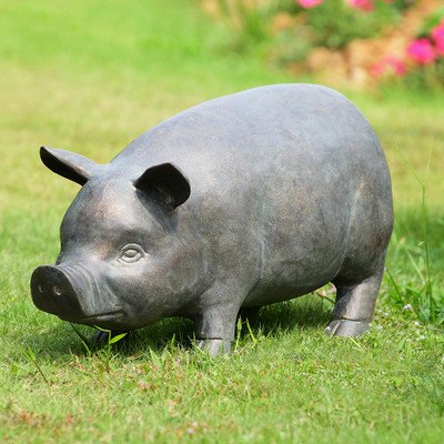 cute pig sculpture for sale