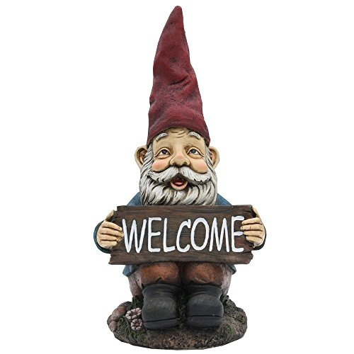 welcome garden gnome