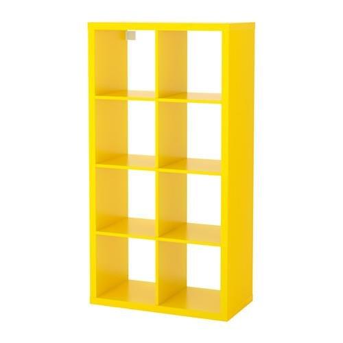 Yellow Bookshelf