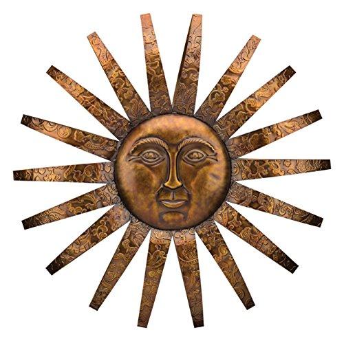 large sun plaques