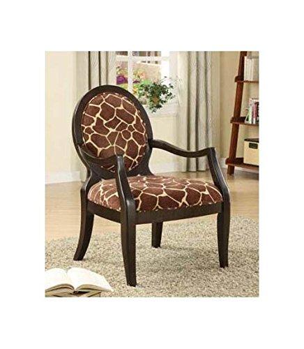 cute giraffe print chair