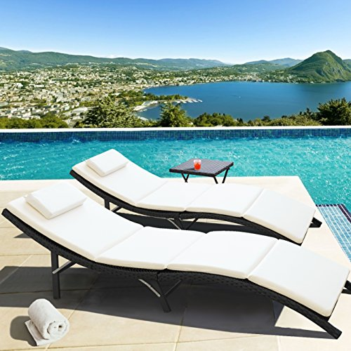 outdoor recliner sets