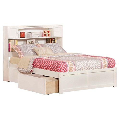 bookcase storage beds