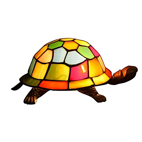 colorful turtle shaped accent lamp