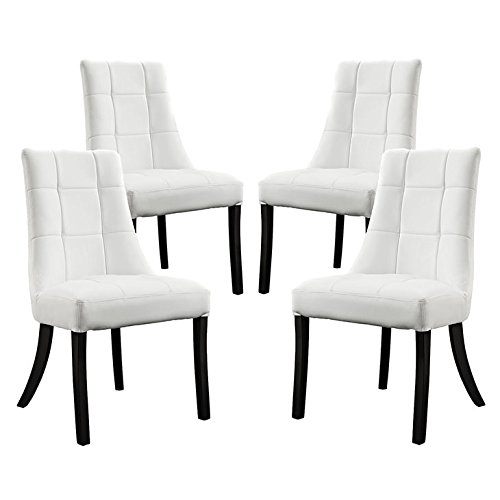 white dining chairs set of 4