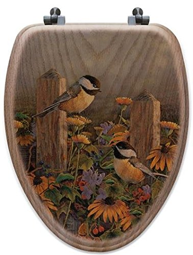 cute birds design toilet seat