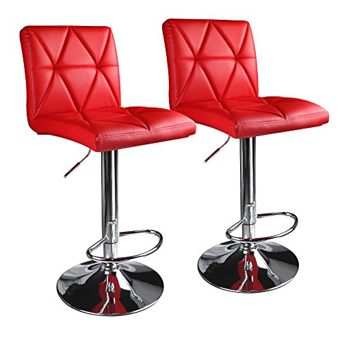 cool red bar stools