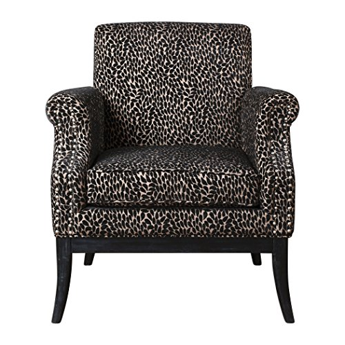 Leopard Print Arm Chair
