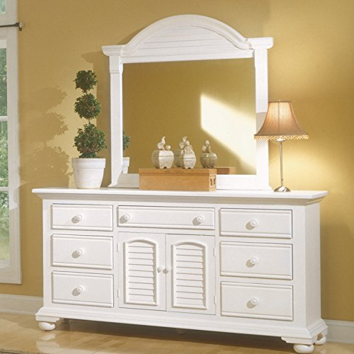 White Dresser for a Teen Girl's Bedroom