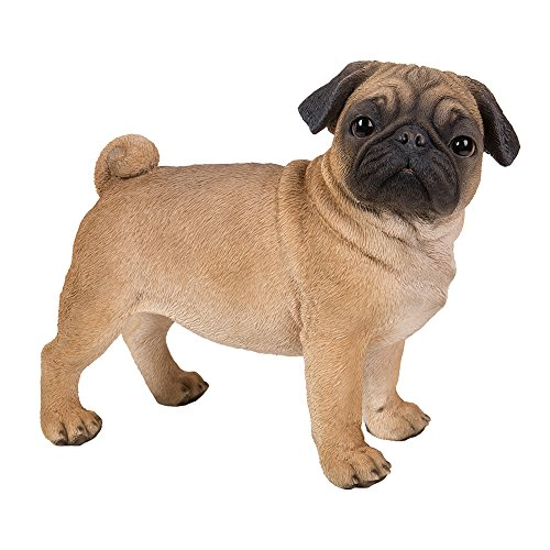 realistic pug statue for sale
