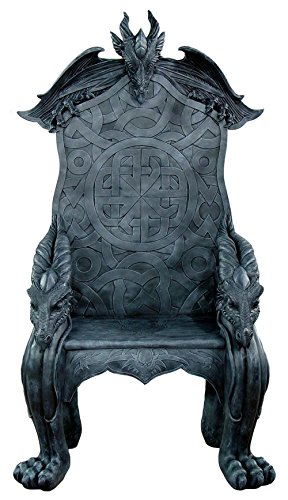 Dragon Castle King's Throne Chair for sale