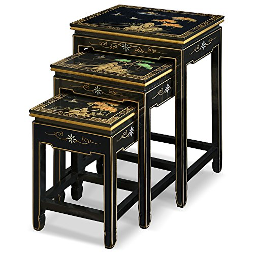 oriental nesting tables